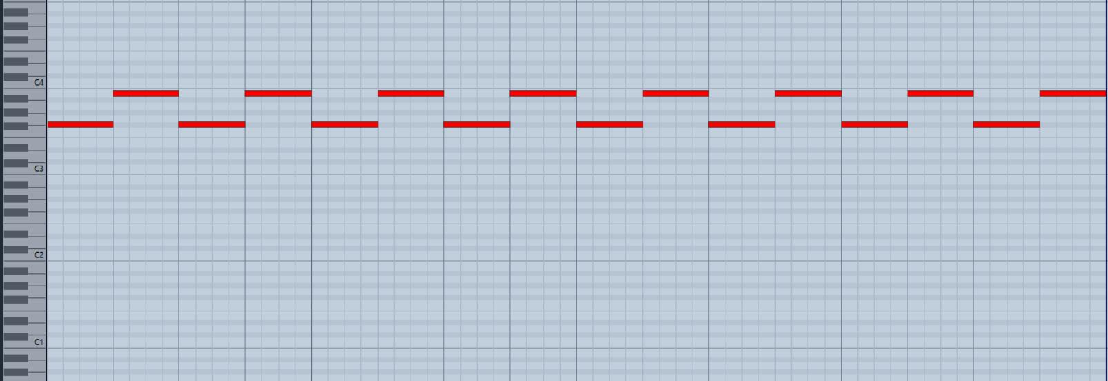 Screenshot MIDI Martinshorn