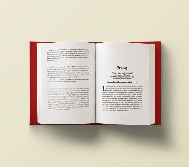 Taschenbuch-Vorlagen Bild klein