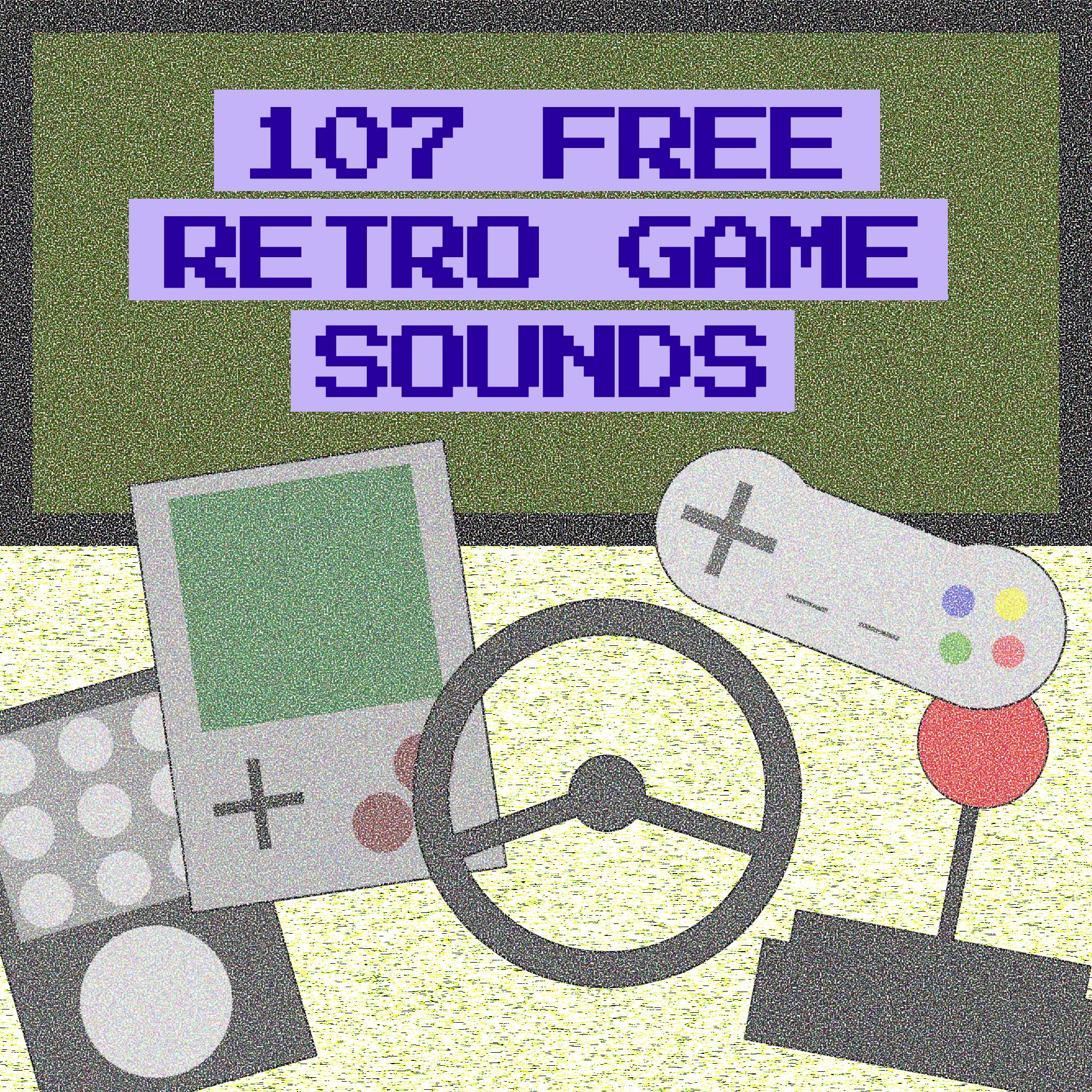107 Free Retro Game Sounds