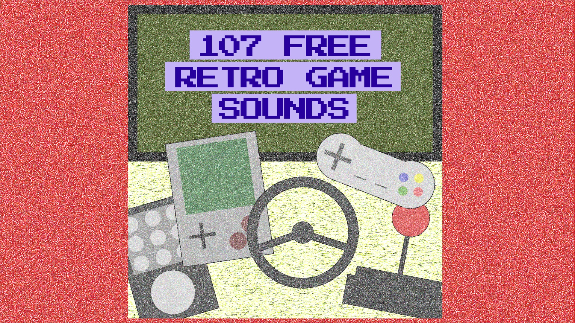 107 Free Retro Game Sounds