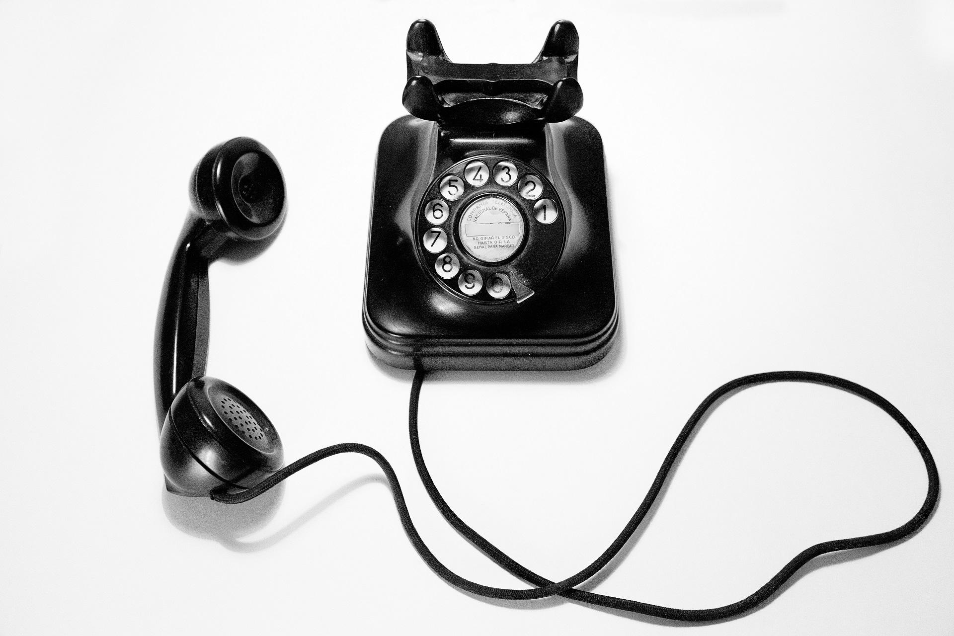 Telefonstimme