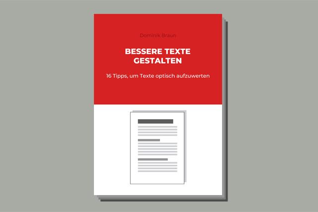 BILD E-Book Texte gestalten