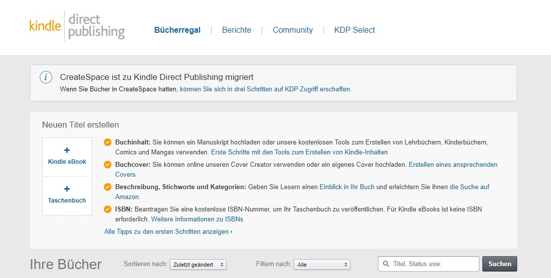 Amazon KDP Screenshot 1