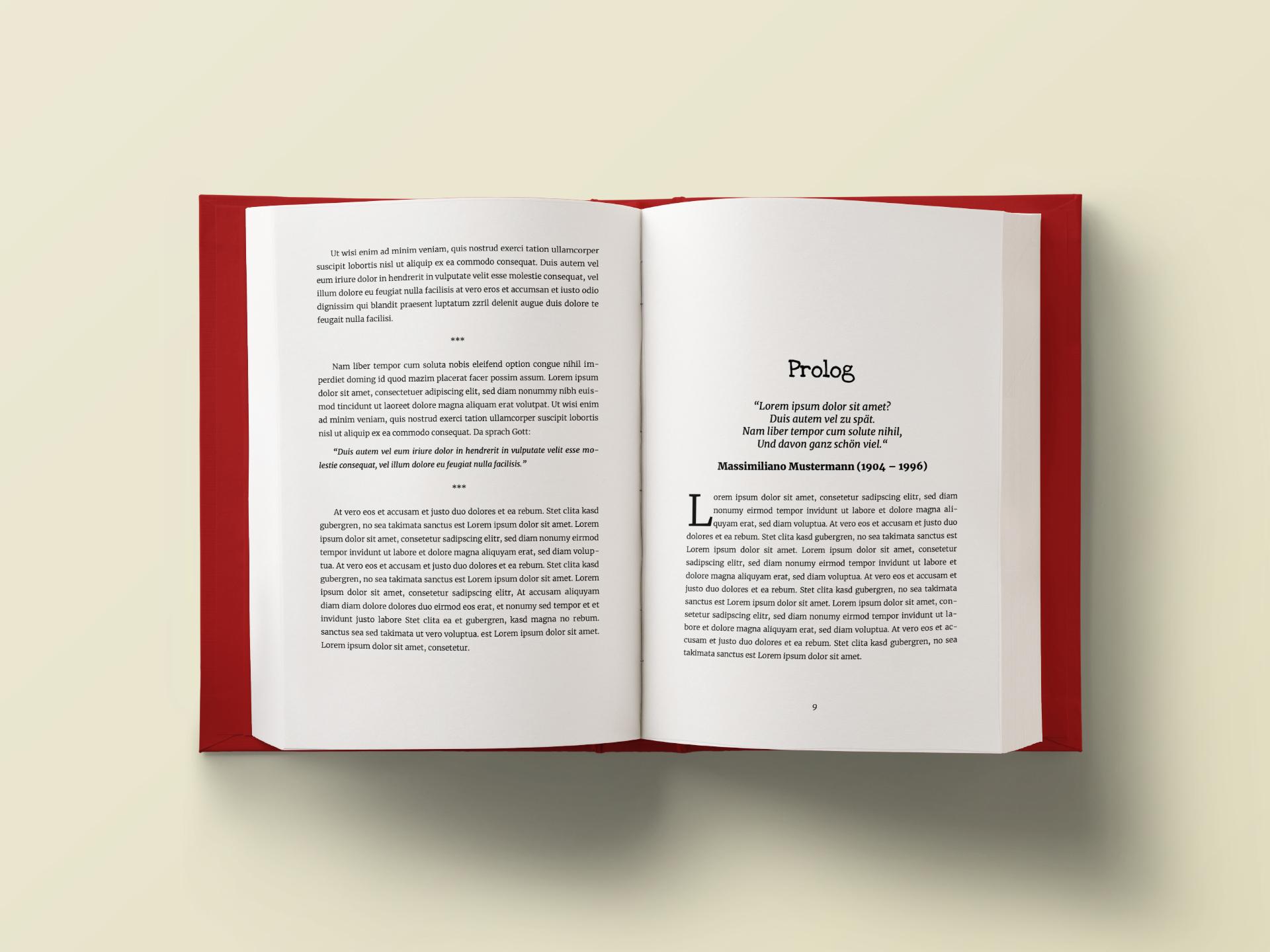 Titelbild Header Taschenbuch-Vorlagen