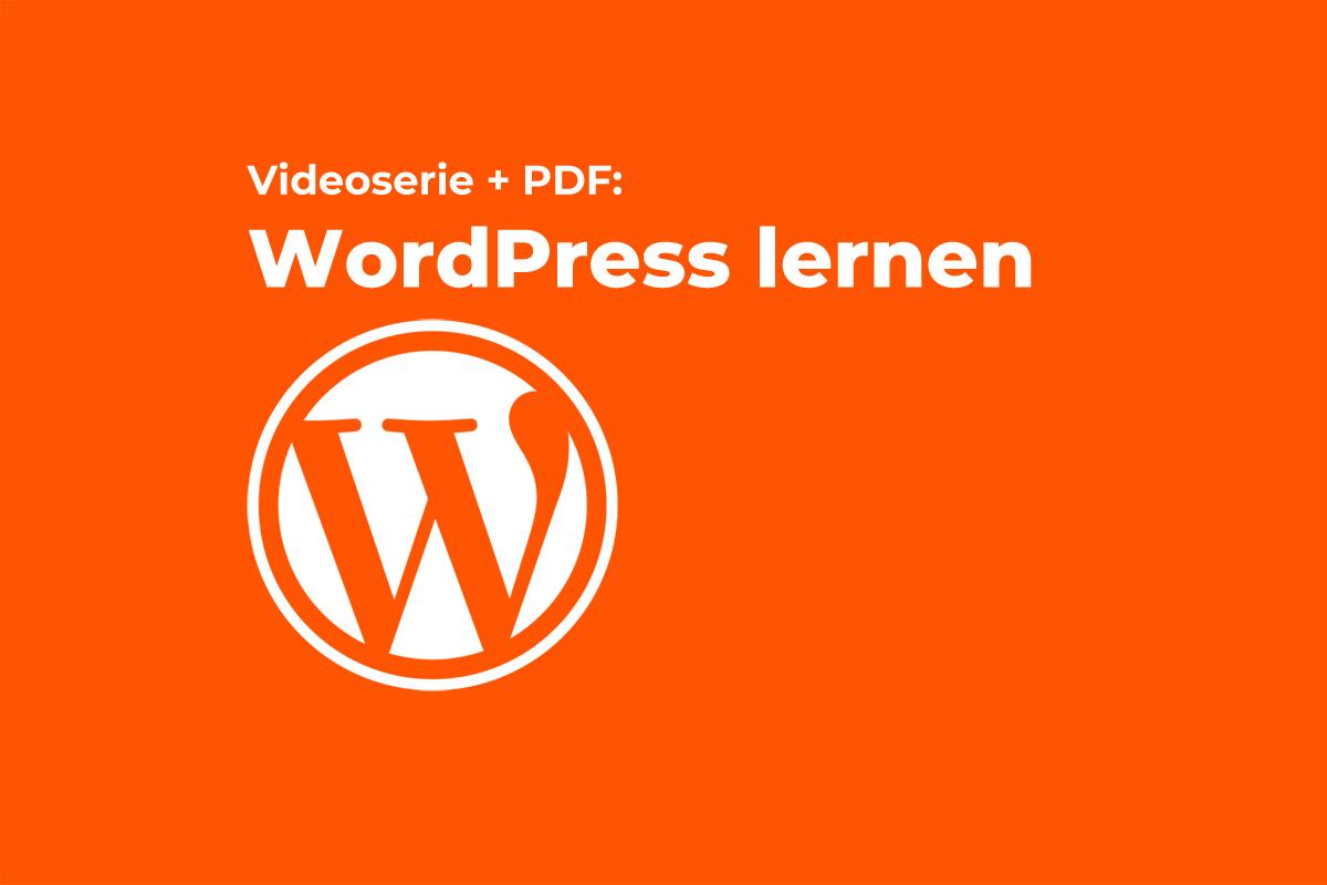 WordPress lernen Beitragsbild